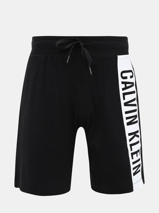 Čierne pánske teplákové kraťasy Calvin Klein Underwear