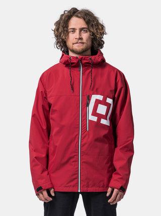 Červená pánská voděodpudivá bunda Horsefeathers Perch Isaac