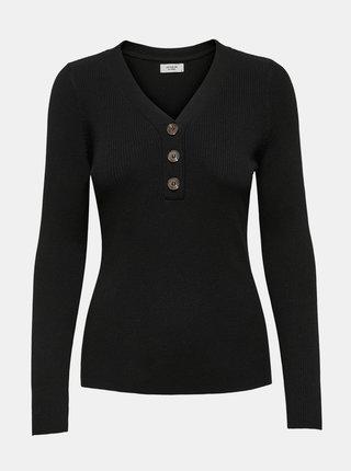Černé tričko Jacqueline de Yong Melani