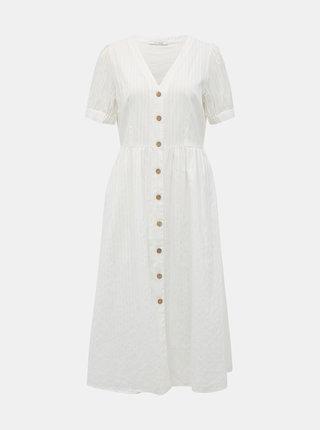 Bílé šaty VILA Mollisa