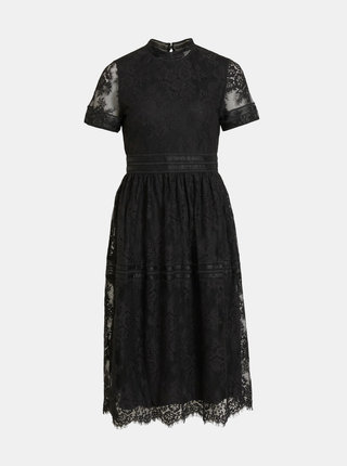 Černé krajkové šaty VILA Dixie