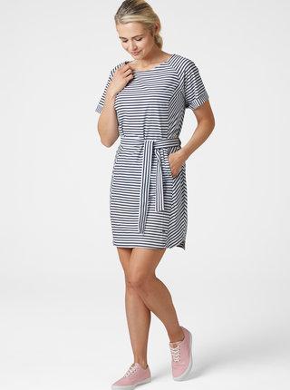 Bielo-modré pruhované šaty HELLY HANSEN Thalia