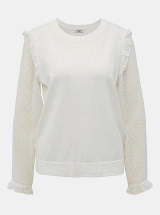 Bílá halenka s krajkovými detaily Jacqueline de Yong Mixi