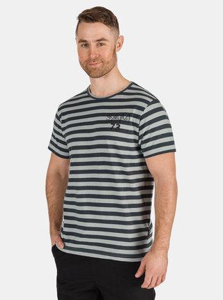 Šedé pánské pruhované tričko SAM 73 Samiar