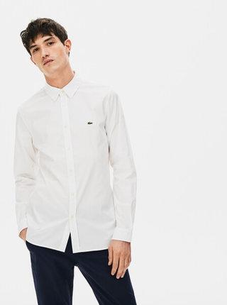 Biela pánska košeľa Lacoste