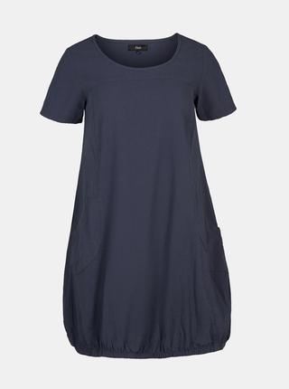 Tmavě modré šaty Zizzi Marrakesh