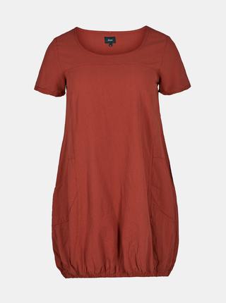 Cihlové šaty Zizzi Marrakesh