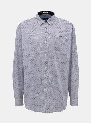 Svetlomodrá vzorovaná košeľa Jack & Jones Dylan