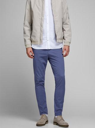 Modré chino kalhoty Jack & Jones Marco
