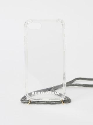 Transparentný obal na telefón Iphone 7/8 VERO MODA Hello