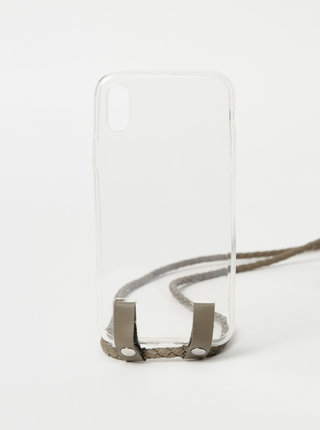 Transparentný obal na Iphone X Haily´s Carry