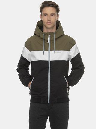 Zeleno-černá pánská bunda Ragwear Jayce