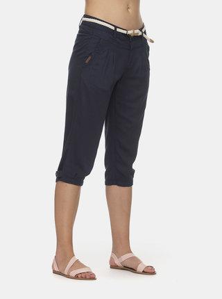 Tmavě modré dámské 3/4 kalhoty Ragwear Crispy
