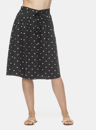 Černá puntíkovaná sukně Ragwear Lejla Dots