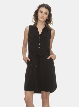 Černé šaty Ragwear Roisin