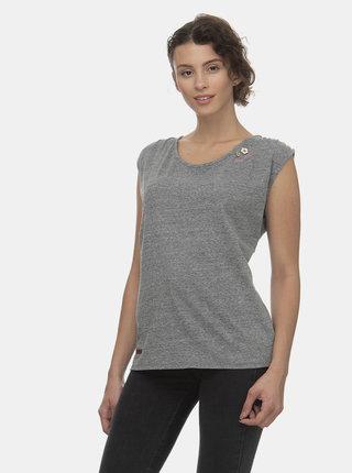 Šedé dámské žíhané tričko Ragwear Greta