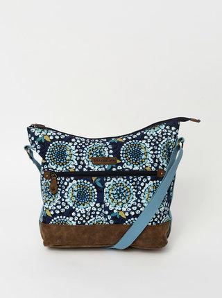 Tmavě modrá vzorovaná kabelka Brakeburn Apple