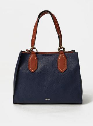 Tmavě modrá kabelka Hampton