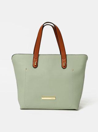 Světle zelená kabelka Hampton