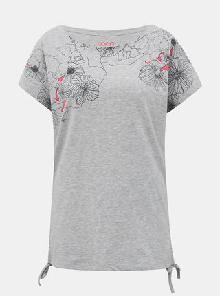 Šedé dámske tričko LOAP Adelie