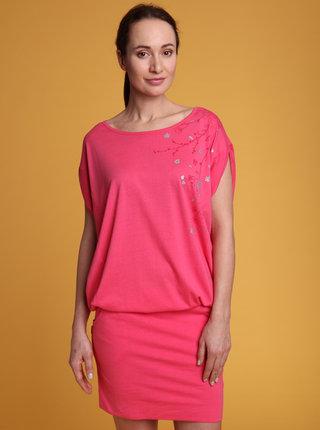 Ružové šaty LOAP Aslana