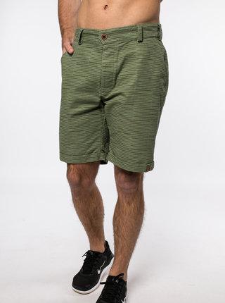 Zelené pánské vzorované kraťasy Alife and Kickin Pumpkinak