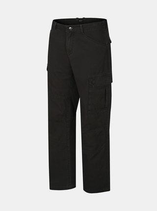Čierne pánske nohavice Hannah Curent