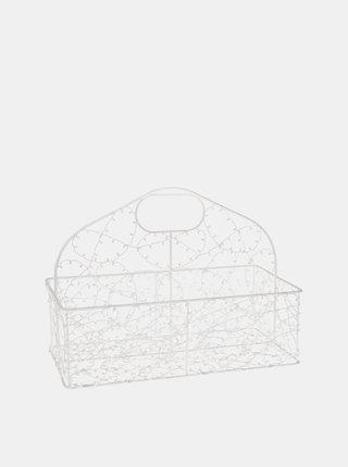 Bílý košík Dakls