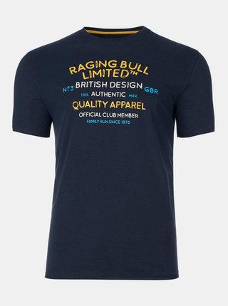 Tmavě modré tričko Raging Bull