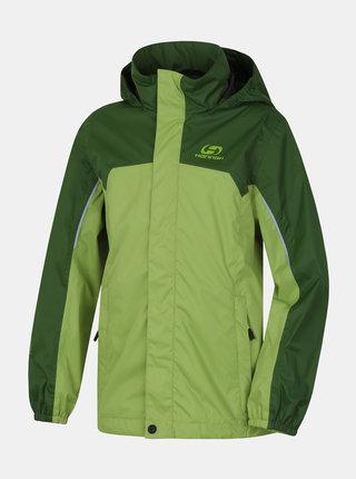 Zelená klučičí voděodolná bunda Hannah Peeta