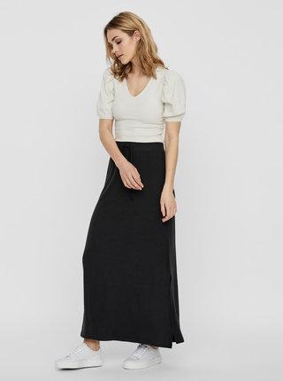 Černá basic maxi sukně AWARE by VERO MODA Ava