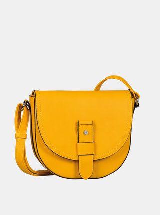 Žltá crossbody kabelka Tom Tailor Matera