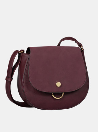 Vínová crossbody kabelka Tom Tailor Denim Molly