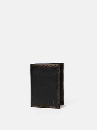 Černá pánská kožená peněženka Dice Arthur