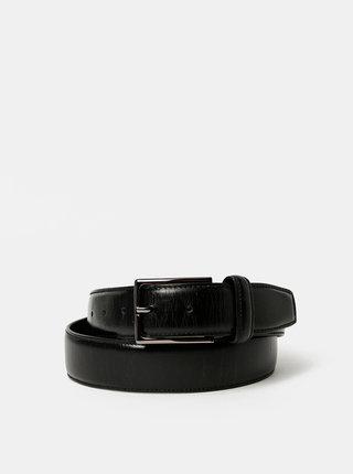 Čierny pánsky kožený opasok Dice Valona