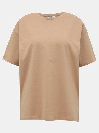 Béžové tričko s potiskem AWARE by VERO MODA Kerry