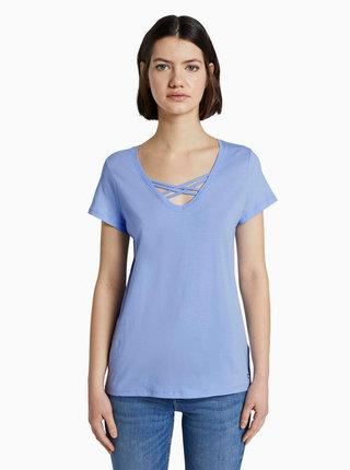 Světle modré dámské tričko Tom Tailor Denim