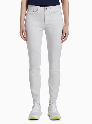 Bílé dámské skinny fit džíny Tom Tailor Denim