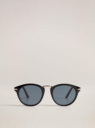 Černé sluneční brýle Mango Aqua
