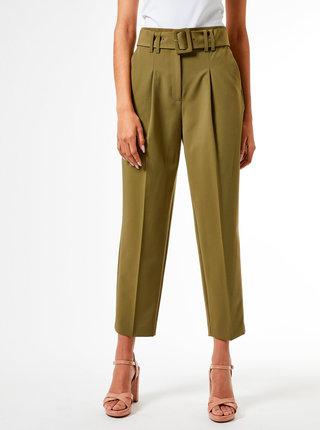 Zelené nohavice Dorothy Perkins