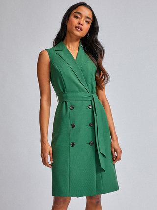 Zelené šaty Dorothy Perkins Petite
