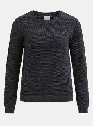 Tmavomodrý sveter VILA