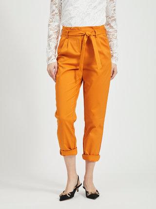 Oranžové kalhoty VILA