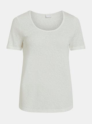 Bílé tričko VILA