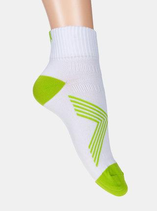 Bílé kotníkové ponožky Marie Claire