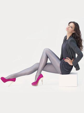 Šedé punčochové kalhoty Marie Claire