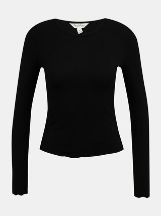 Černé tričko Miss Selfridge