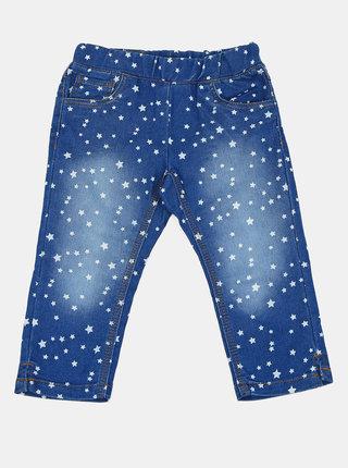 Modré holčičí vzorované džíny Blue Seven