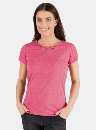 Ružové dámske basic tričko SAM 73
