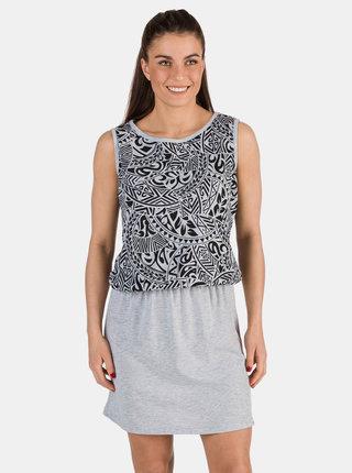 Šedé vzorované šaty SAM 73